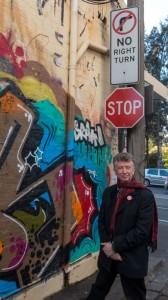 Paul Costigan in Melbourne, photo by Gael Newton