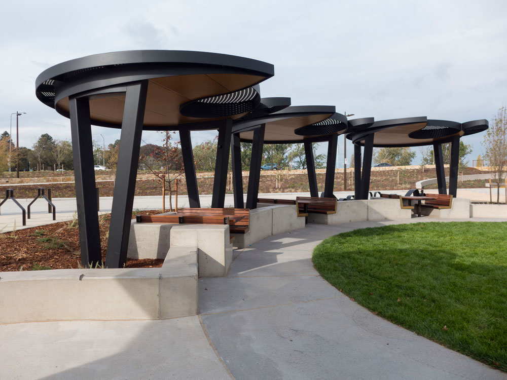 Henry Rolland Park Canberra Shared Spaces Lake Burley